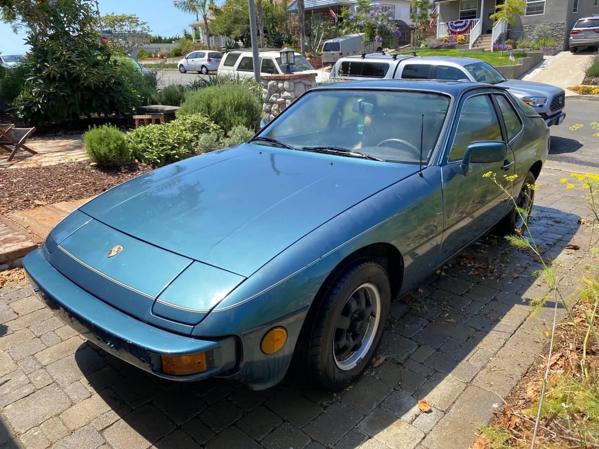 Project Car Blues: 1979 Porsche 924