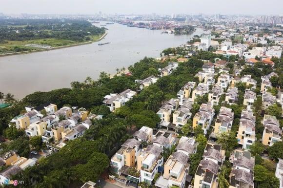 Biệt thự ở Thảo Điền bịt kín lối ra bờ sông Sài Gòn ảnh 4