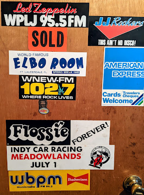 Bumper stickers 70' & 80's