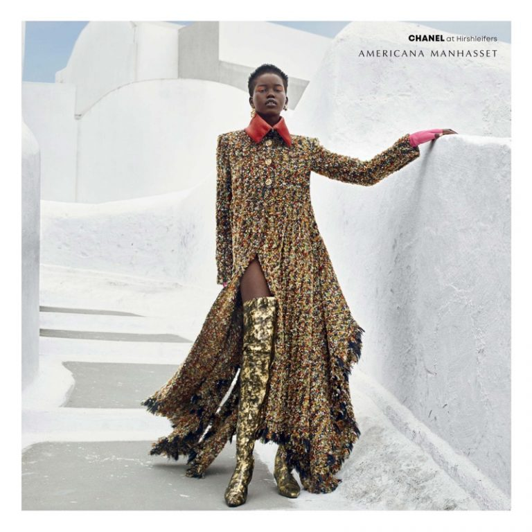 Adut Akech stars in Americana Manhasset fall-winter 2018 campaign