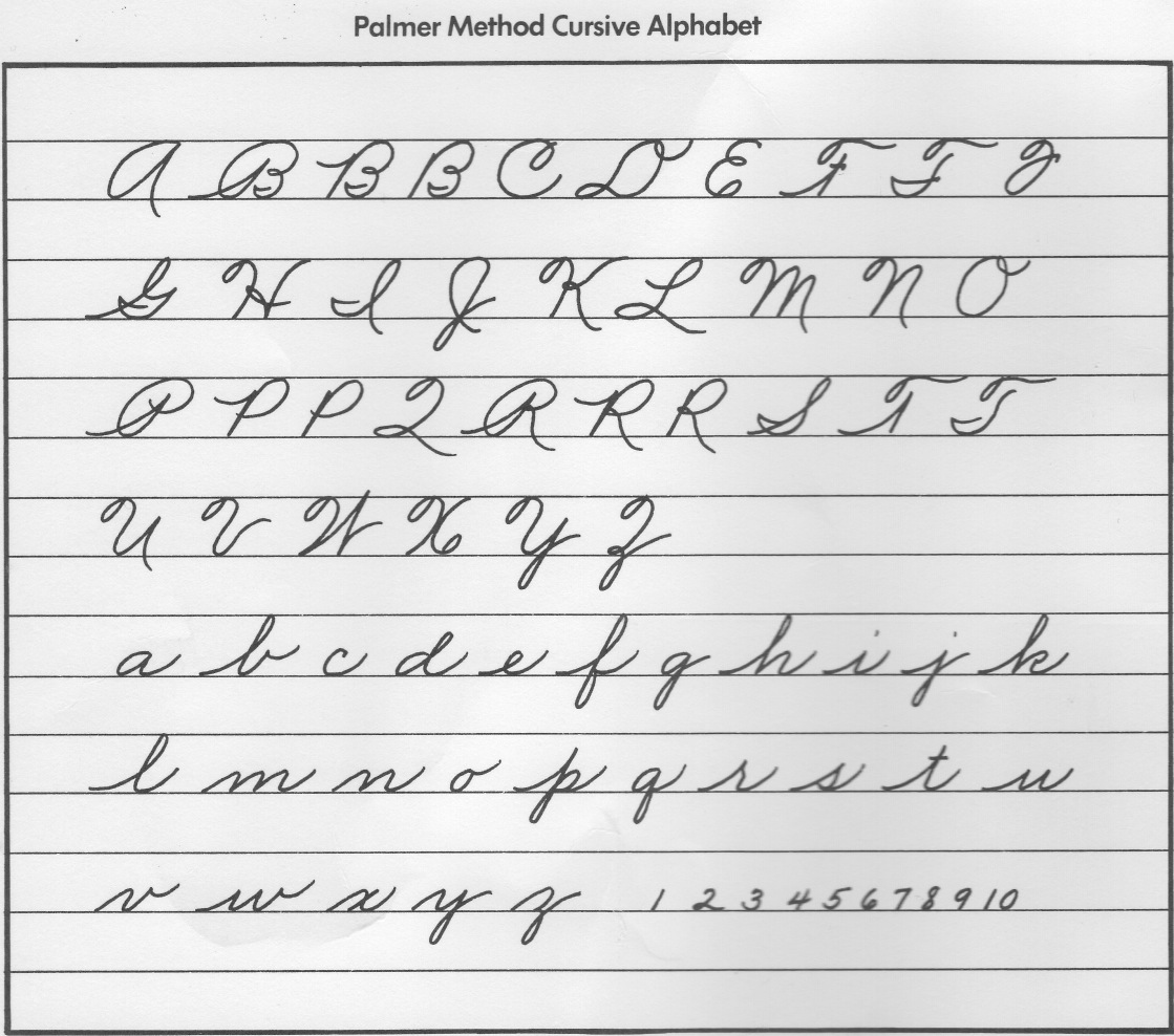 free cursive writing Cursive handwriting practice practice writing words in standard cursive this page allows you to create a worksheet of text for cursive writing  please feel free.