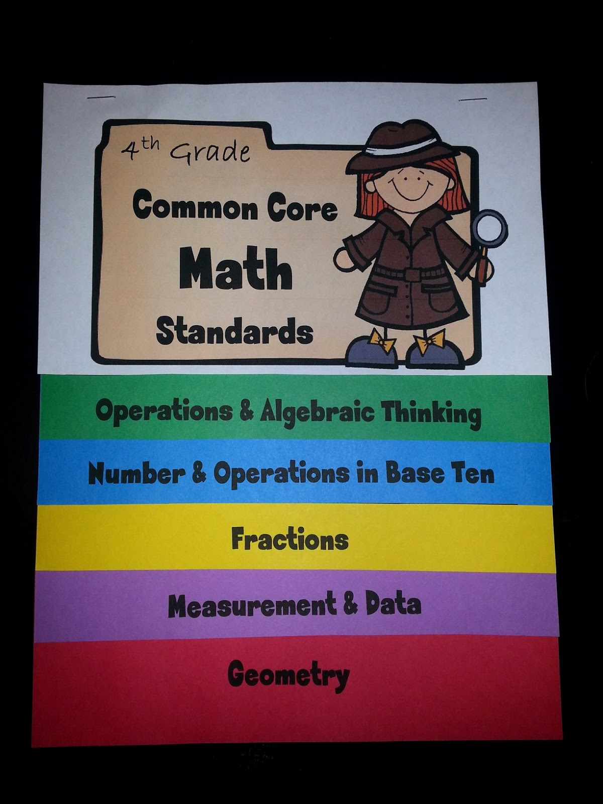 Common Core Standards Math 4th Grade Measurement