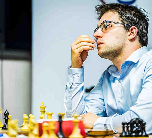 Le Français Maxime Vachier-Lagrave est n°2 mondial aux échecs - Photo © Lennart Ootes