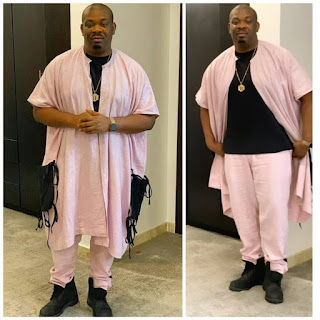 See Don Jazzy's Latest Fashion Causing Go-slow Online.