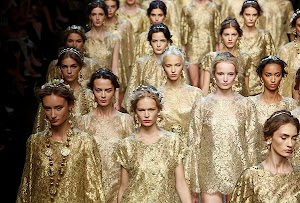 Milan Fashion Week 2013: Dolce & Gabbana fashion show