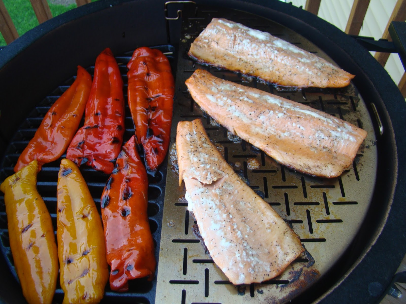 how to cook rainbow trout fillets on the bbq