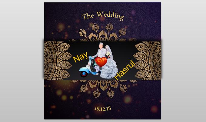 Wedding Invitation 2 Powerpoint Template