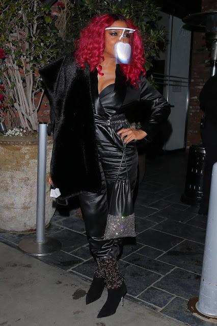 Taraji P. Henson – Celebrates Megan Thee Stallion's 3 Grammy wins in Hollywood