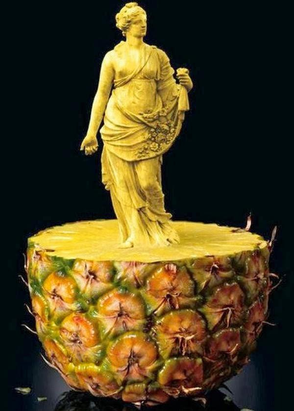 limonchiflado: Esculturas de frutas y verduras