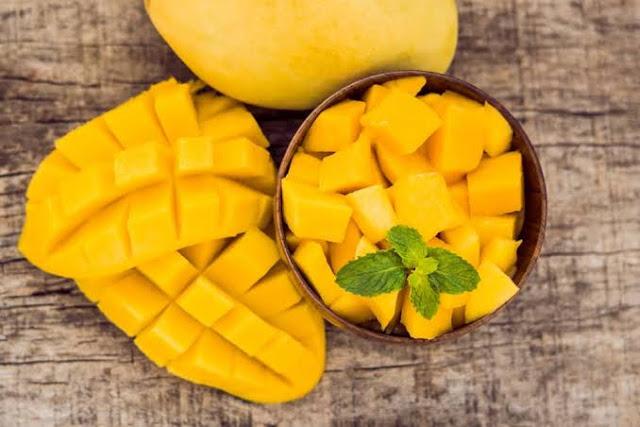 Manfaat mengkonsumsi buah mangga