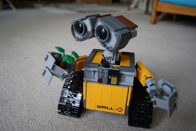 Wall-E Lego toy, fun, building, Lego