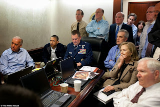 watching Osama Bin Laden attack