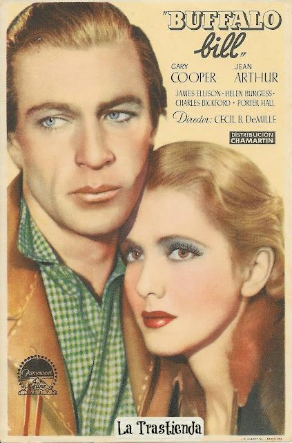 Programa de Cine - Buffalo Bill - Gary Cooper - Jean Arthur