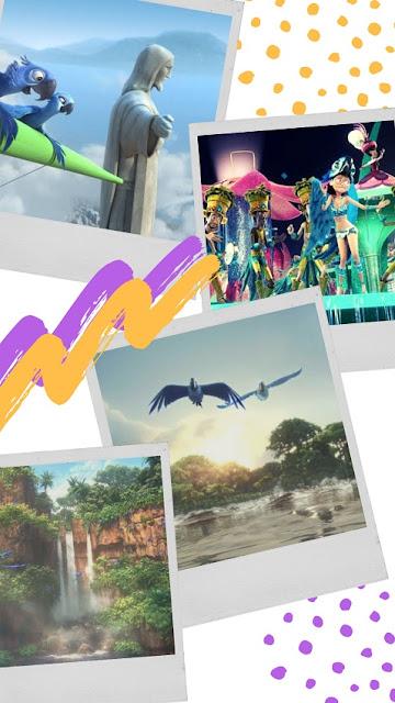 Rio and Rio2 movie travel review