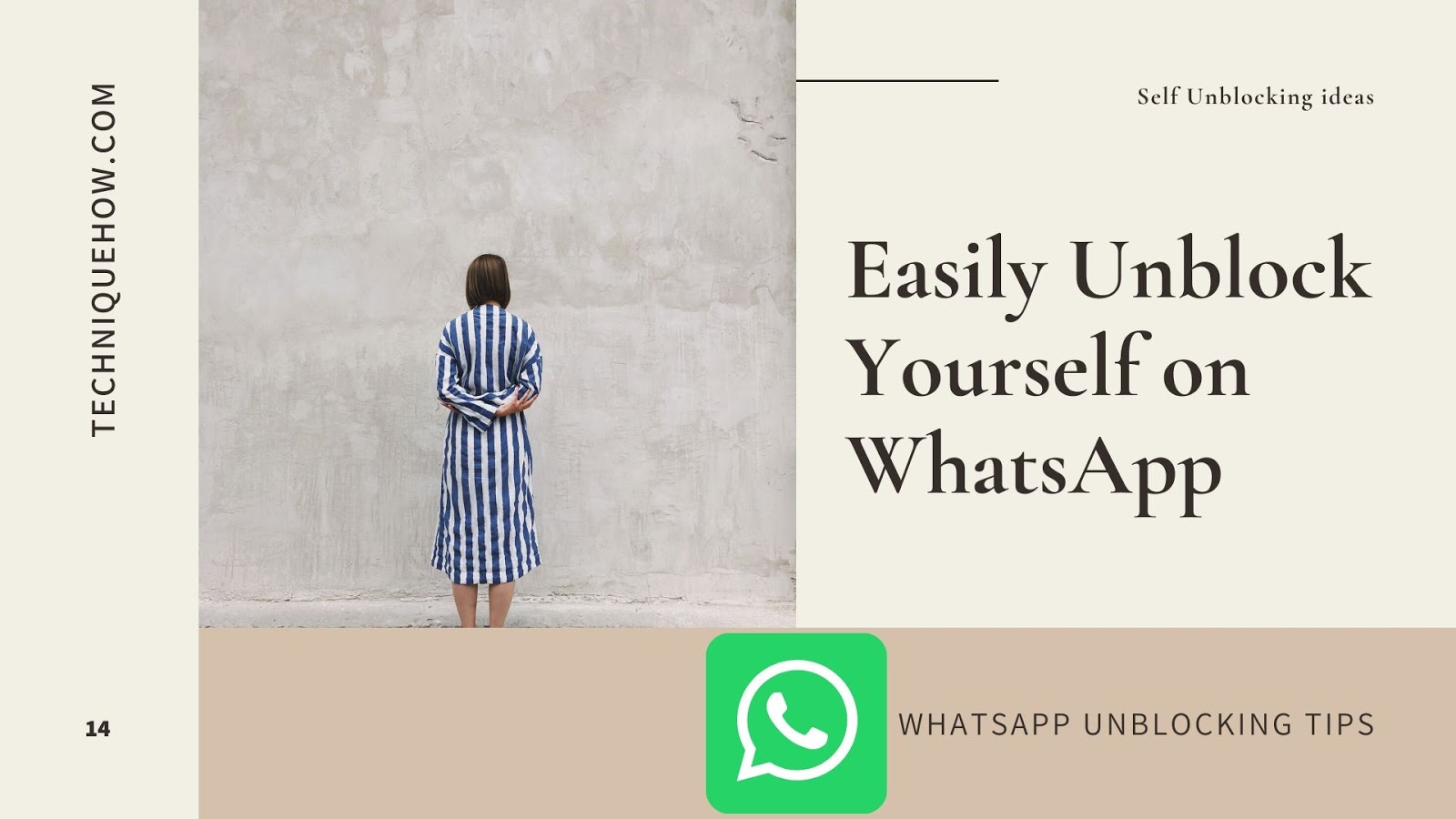 unblock yourself whatsapp