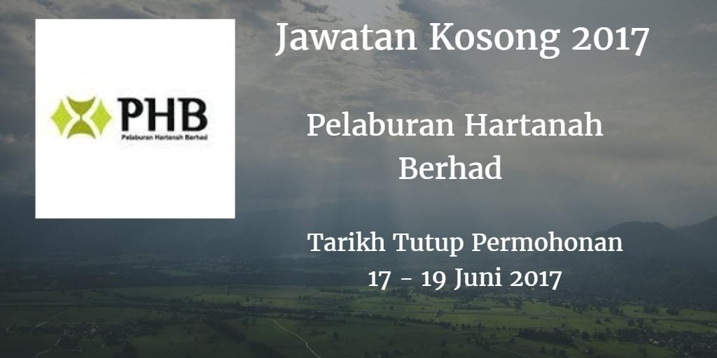 Jawatan Kosong PHB 17- 19 Juni 2017