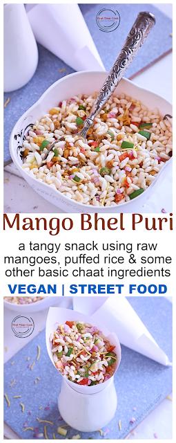 Raw Mango Puffed Rice Mixture