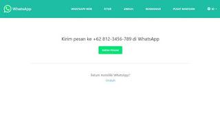 Cara Membuat Link WhatsApp ke Chat Langsung Buat Media Sosial