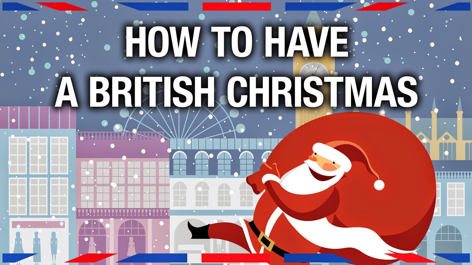 were approaching christmas so its good to check on what makes a real british christmas compared to celebrations in other countries