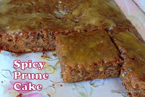 Spicy Prune Cake
