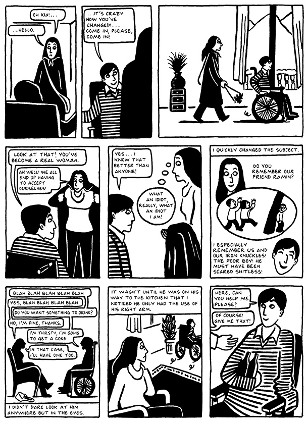 Read Chapter 11 - The Joke, page 108, from Marjane Satrapi's Persepolis 2 - The Story of a Return