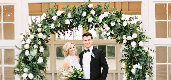 A Luxe Greenery-Filled Texas Fête with Beautiful Blooms Galore