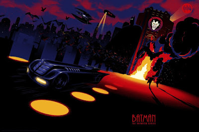 Batman: The Animated Series Print Series by Raid71 x Bottleneck Gallery