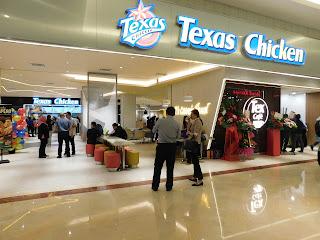 americano coffee, ayam goreng, cake, cappucino, fastfood restoran, Food Review, hot chocolate, latte, makanan segera, Review, Suria KLCC, tempat makan KL, Tex Cafe, Texas Chicken, Texas Chicken KLCC, western food,