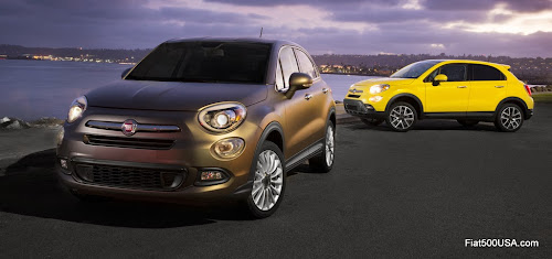Fiat 500X Lounge and Trekking Plus North American Versions