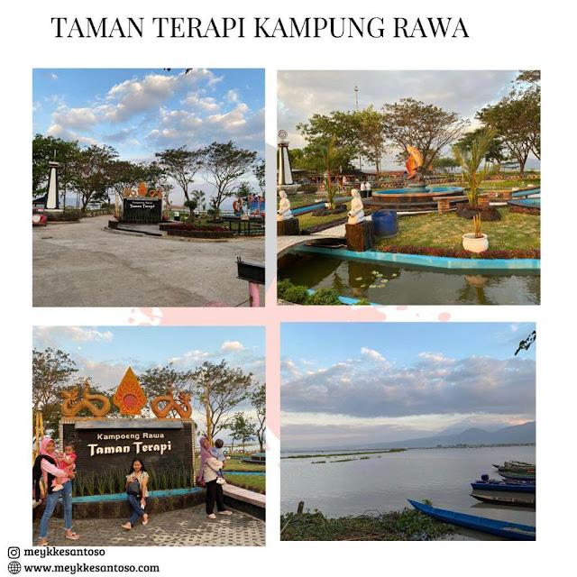 Taman terapi kampung rawa Ambarawa