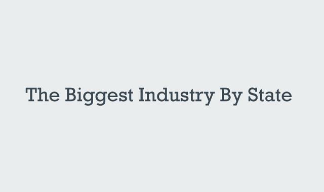 Biggest Industry by State