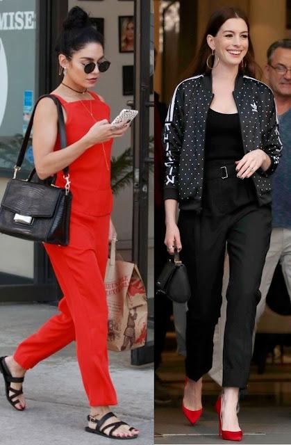 6 looks inspiração calçados statement- Tendência, Anne Hataway, Vanessa Hudgens