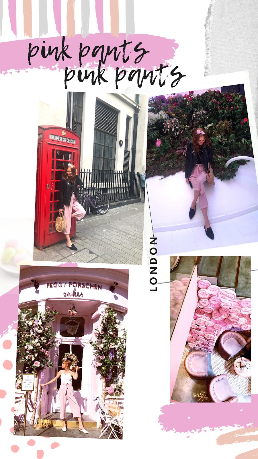 how to style pink pants in london and amsterdam