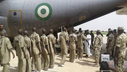 Nigerian Army Accepts 28 Repentant   Boko Haram, ISWAP, In Borno