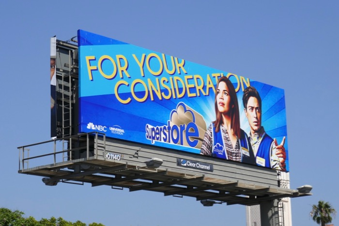Superstore 2019 Emmy FYC billboard