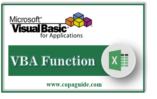 How to Use VBA Function in Excel Hindi Notes?