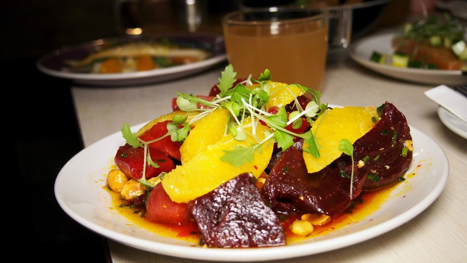 Beetroot and Hazelnut Salad