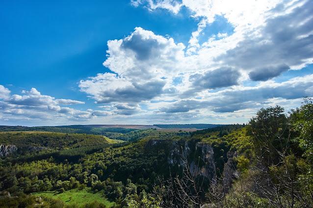 Parque natural Rusenski Lom, Ivanovo, provincia de Ruse