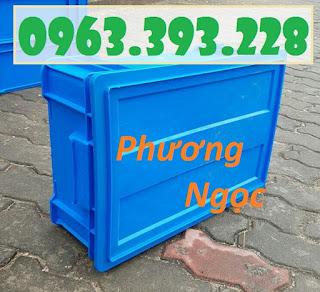 ab5f50af1aeaffb4a6fb Thùng nhựa có nắp, thùng nhựa B4, hộp nhựa công nghiệp