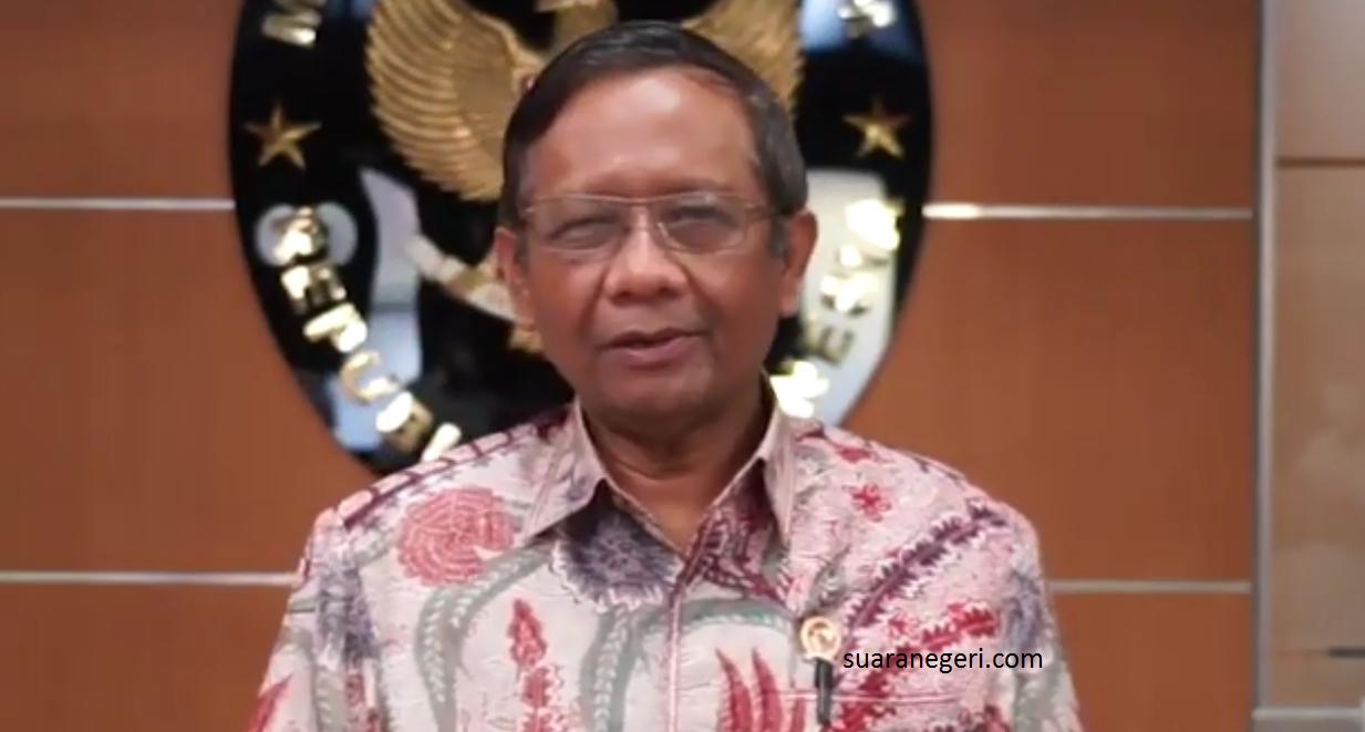 Mahfud MD Pastikan Telegram Kapolri Soal Pembubaran FPI Hoax