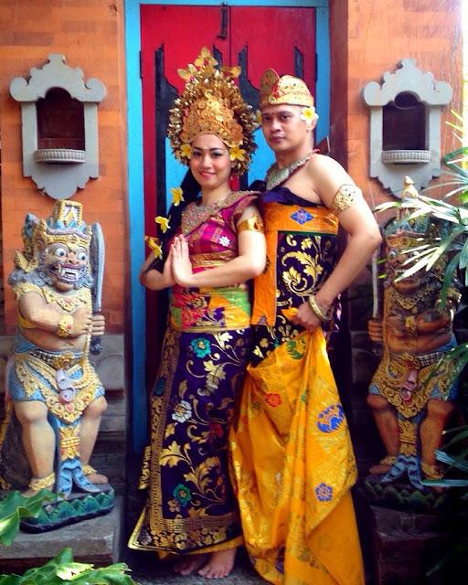 58 Gambar Baju Adat Bali Kemben Kekinian