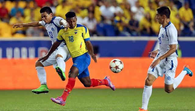 Ecuador vs El Salvador en vivo