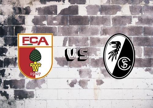 Augsburg vs Freiburg  Resumen