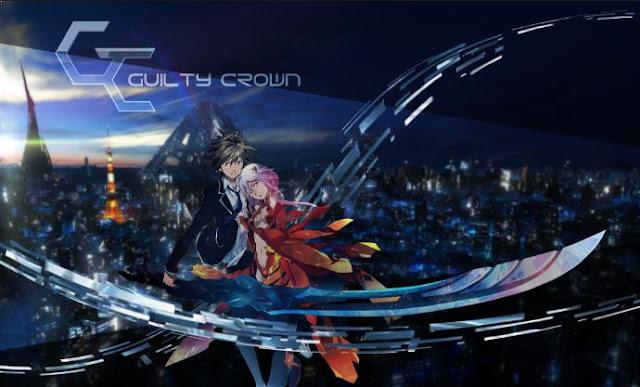 Guilty Crown - Top Anime Romance Sad Ending List