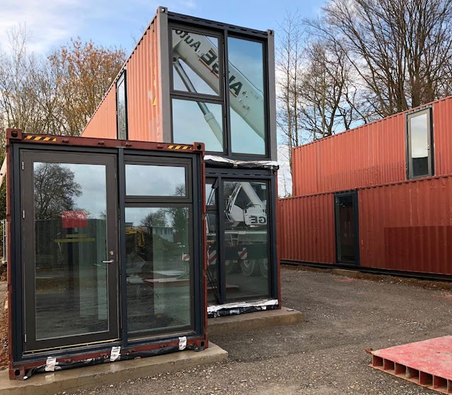 Shipping Container Tiny Homes Village, Germany 22