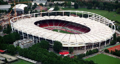 Estadio del Stuttgart (Alemania)
