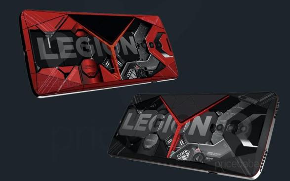 Render Dari Lenovo Legion Gaming Phone telah bocor ke publik
