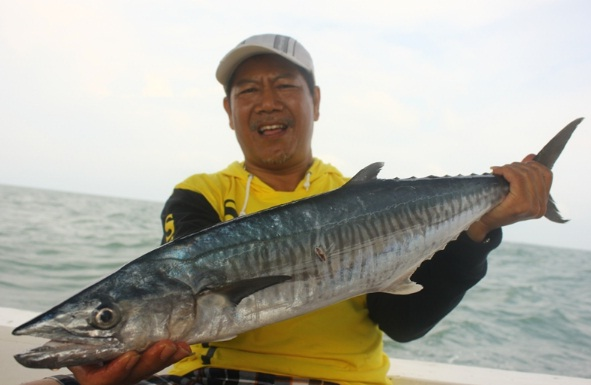 Tipe Peralatan Saat Mancing Ikan Tenggiri