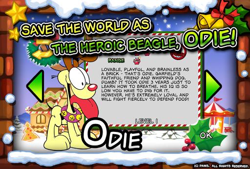 Garfield Saves The Holidays Mod APK