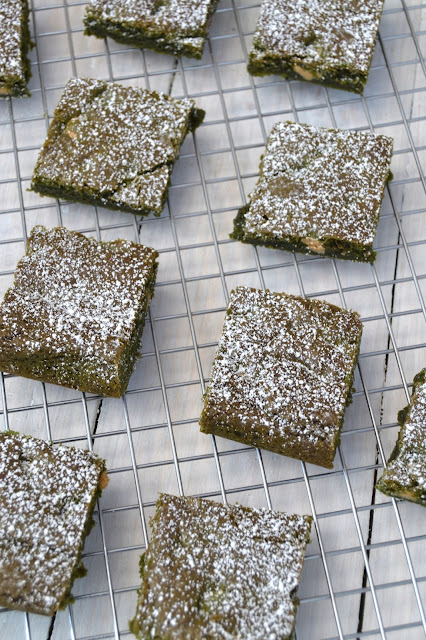 blondies flavoured with pandan the popular south asian flavouring